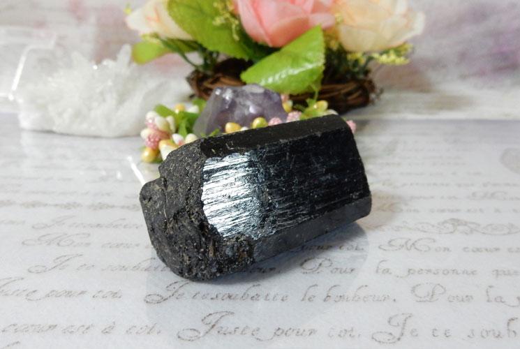 ブラックトルマリン 原石-1