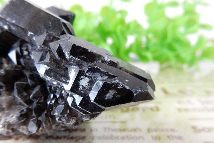 アーカンソー産モリオン(黒水晶) クラスター-2