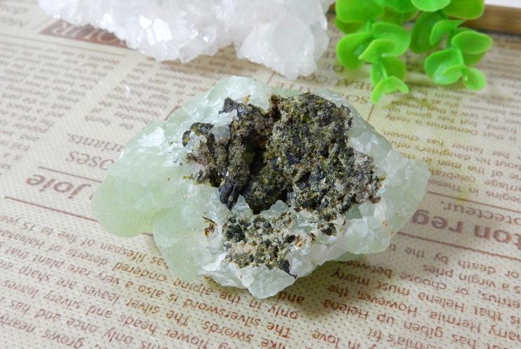 アフリカ・マリ産プレナイト 原石-4