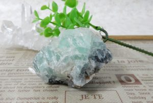 フローライト 原石(15-gs0709-02)