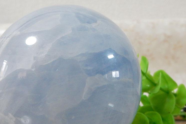 ブルーカルサイト 丸玉(スフィア)-3