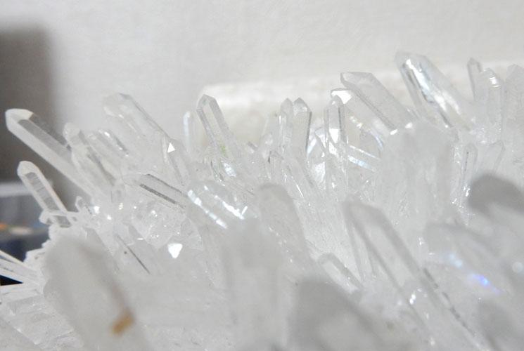 四川省産水晶クラスター-4