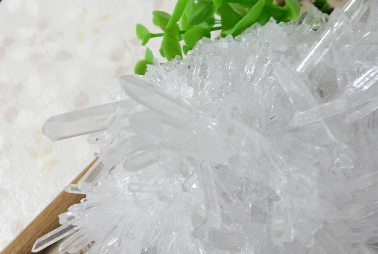 四川省産水晶クラスター-7