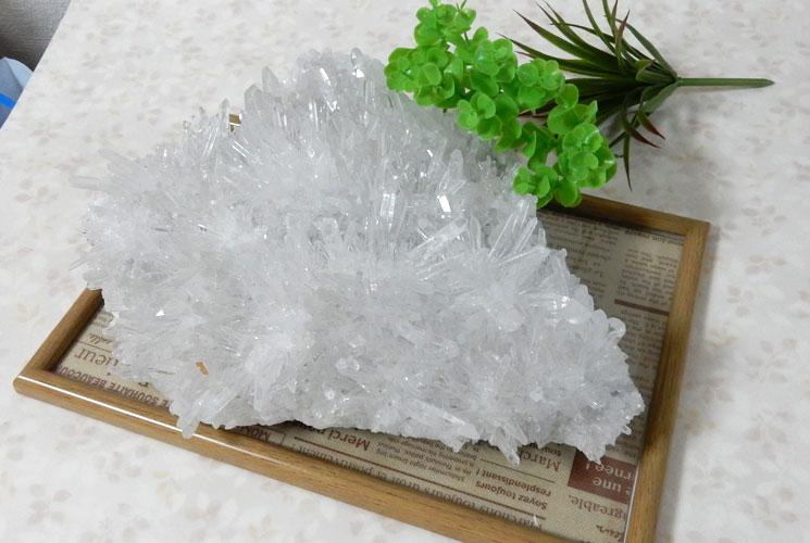 四川省産水晶クラスター