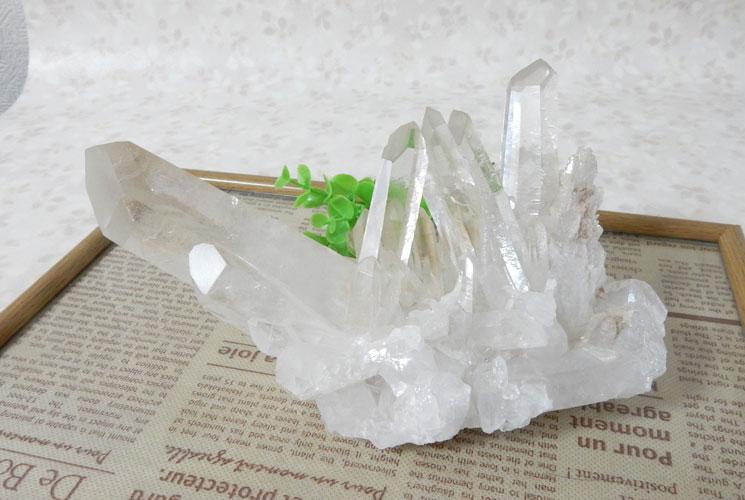 ブラジル産クォーツ(水晶) 原石-0