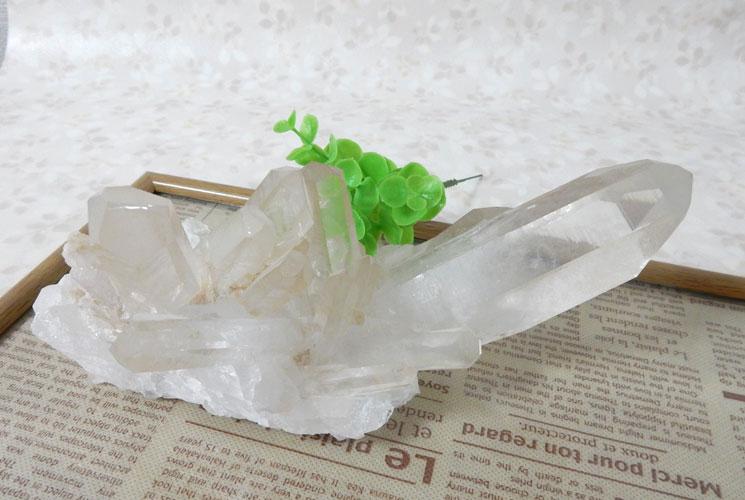 ブラジル産クォーツ(水晶) 原石-7