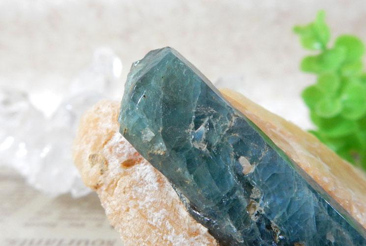 グリーンブルートルマリン 原石-0