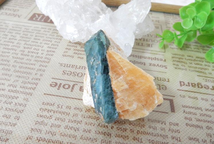 グリーンブルートルマリン 原石-3