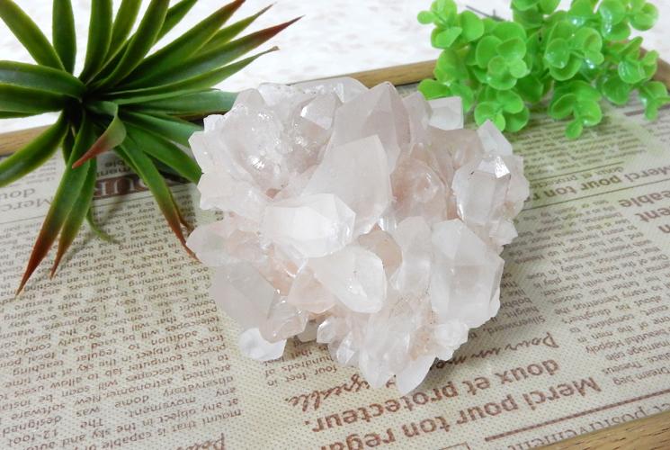 ヒマラヤ産水晶クラスター-0