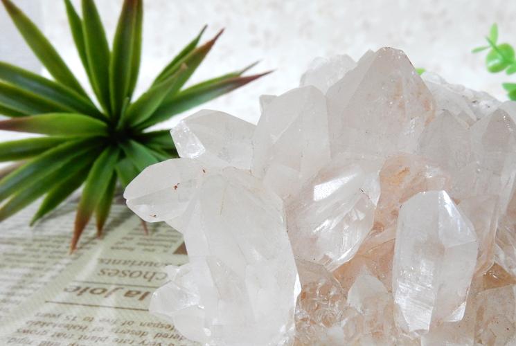 ヒマラヤ産水晶クラスター-1