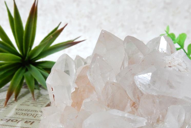 ヒマラヤ産水晶クラスター-3