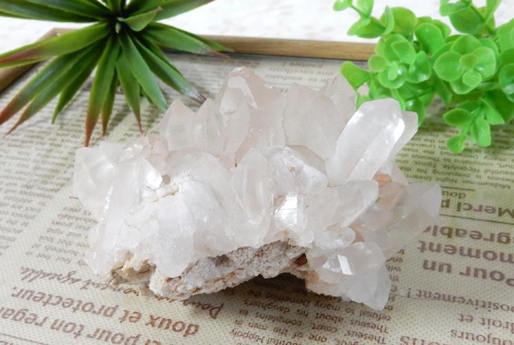 ヒマラヤ産水晶クラスター-4