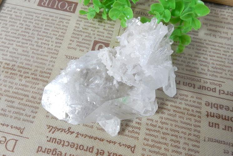 ブラジル産水晶クラスター-0