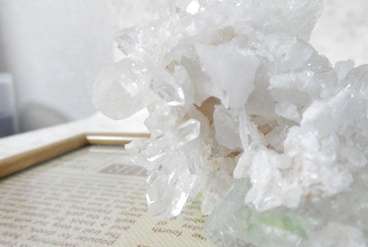 ブラジル産水晶クラスター-2