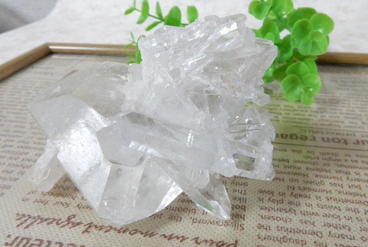 ブラジル産水晶クラスター-3