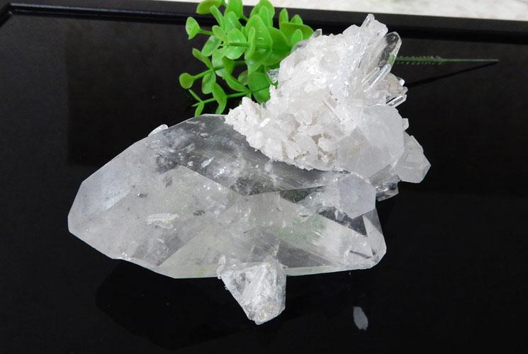 ブラジル産水晶クラスター-4