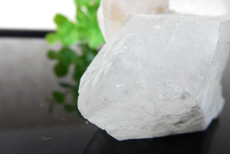 インド産アポフィライト 原石(スティルバイト共生)-3