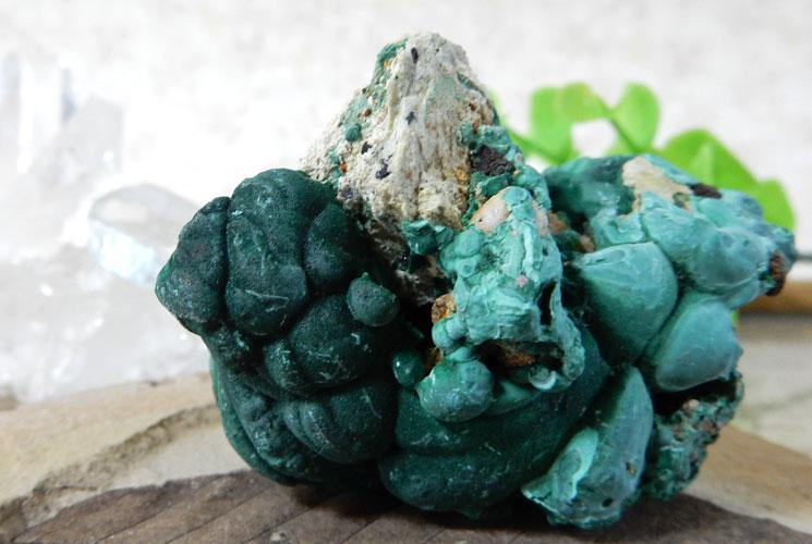 ザイール産マラカイト 原石-2
