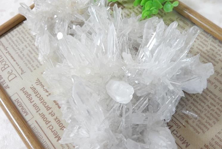 四川省産水晶クラスター-3