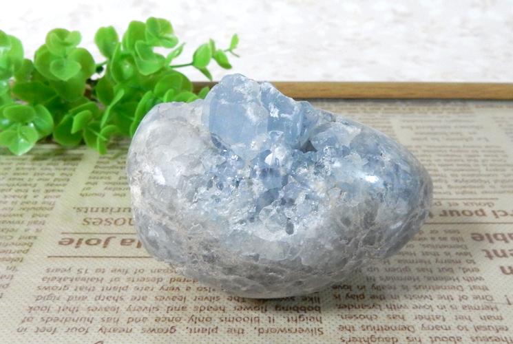 マダガスカル産セレスタイト原石-3