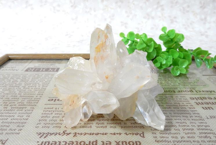 ヒマラヤ産クォーツ(水晶) クラスター