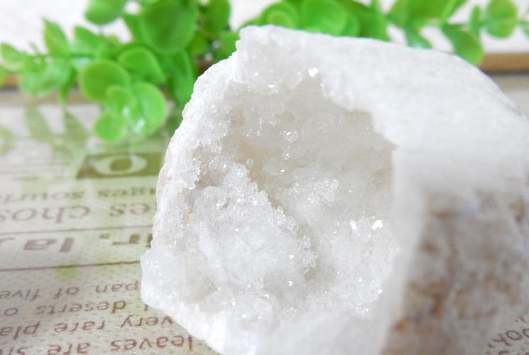 モロッコ産水晶ジオード(1ペア)-2
