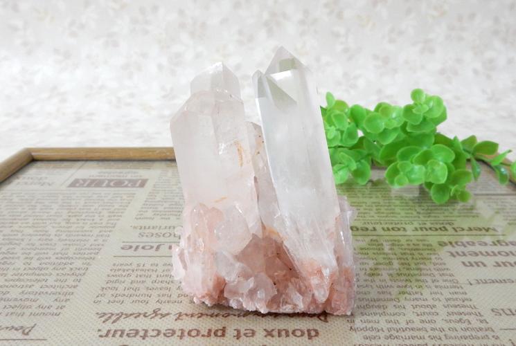 ヒマラヤ産クォーツ(水晶) クラスター-4
