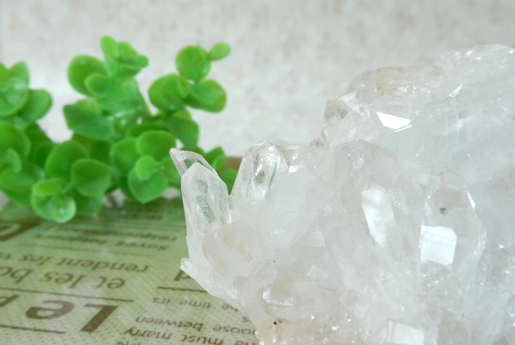 ヒマラヤ産クォーツ(水晶) クラスター-3