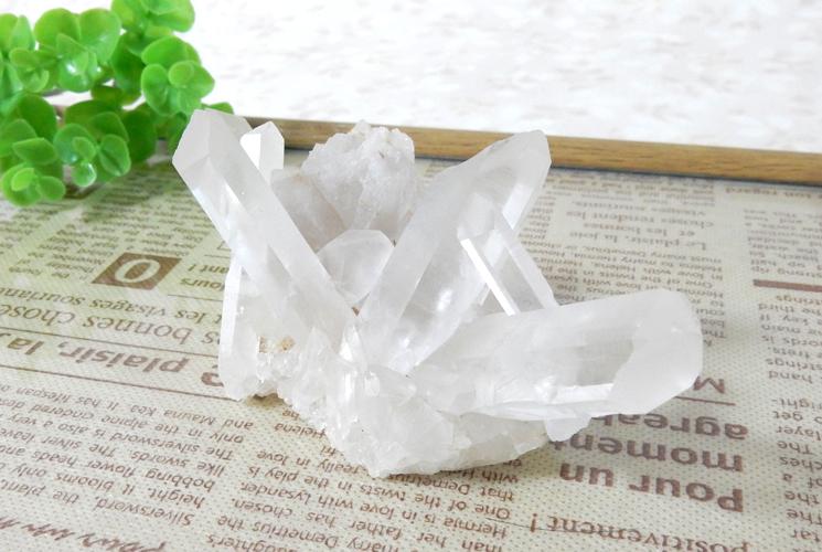 ヒマラヤ産クォーツ(水晶)のクラスター-2