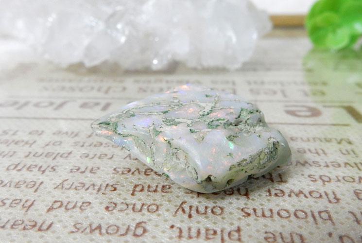オーストラリア産オパールの磨き石-2