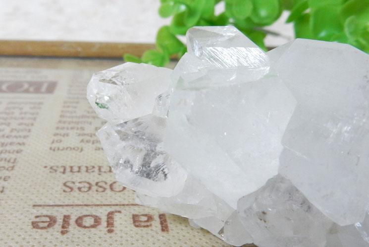 インド産アポフィライト原石-0