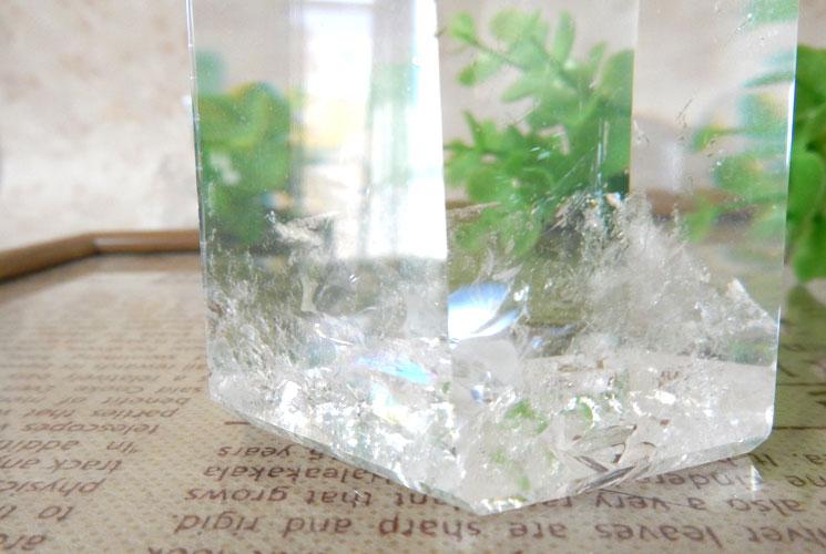 ブラジル産クォーツ(水晶)のポイント-4