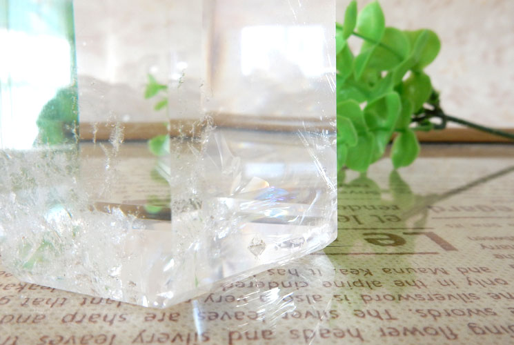 ブラジル産クォーツ(水晶)のポイント-5