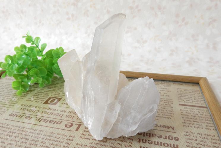 ヒマラヤ産クォーツ(水晶)のクラスター-0