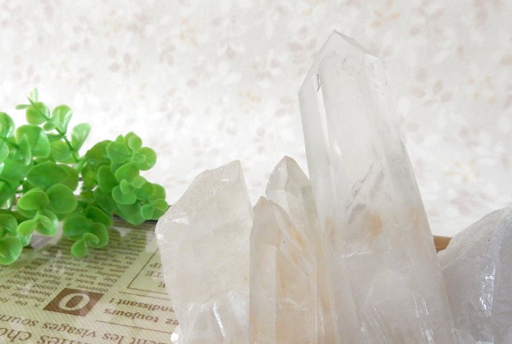 ヒマラヤ産クォーツ(水晶)のクラスター-1