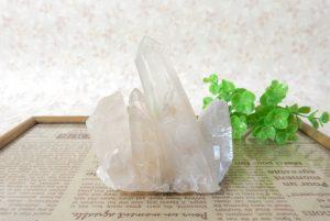 ヒマラヤ産クォーツ(水晶)のクラスター(15-gs1206-01)