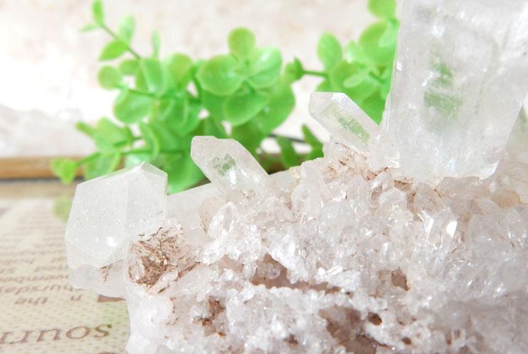 ヒマラヤ産クォーツ(水晶)のクラスター-4