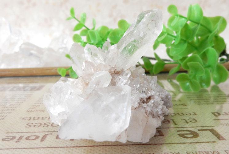 ヒマラヤ産クォーツ(水晶)のクラスター-5