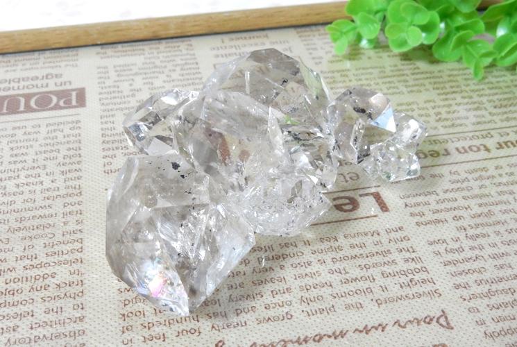 ニューヨーク産ハーキマーダイヤモンドの原石-0