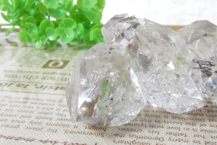 ニューヨーク産ハーキマーダイヤモンドの原石-1