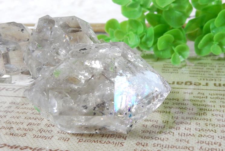 ニューヨーク産ハーキマーダイヤモンドの原石-3