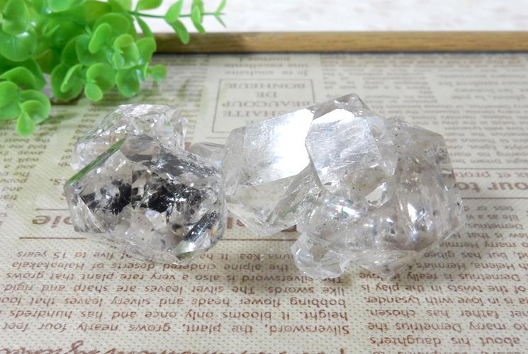 ニューヨーク産ハーキマーダイヤモンドの原石-4