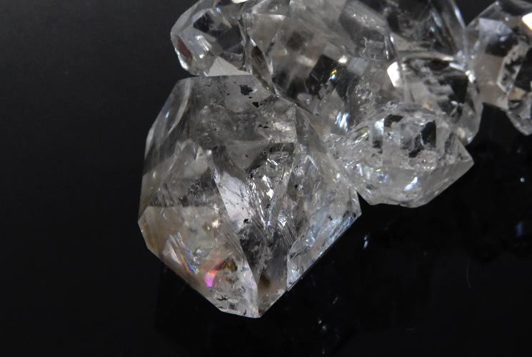 ニューヨーク産ハーキマーダイヤモンドの原石-5