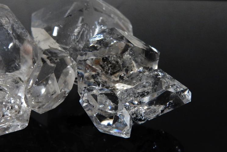 ニューヨーク産ハーキマーダイヤモンドの原石-6