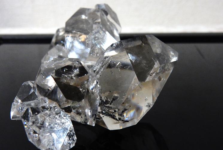ニューヨーク産ハーキマーダイヤモンドの原石-7