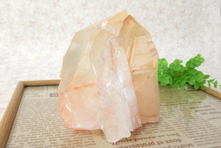 ヒマラヤ産水晶のクラスター-1