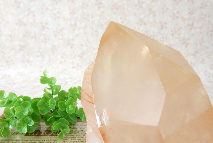 ヒマラヤ産水晶のクラスター-3