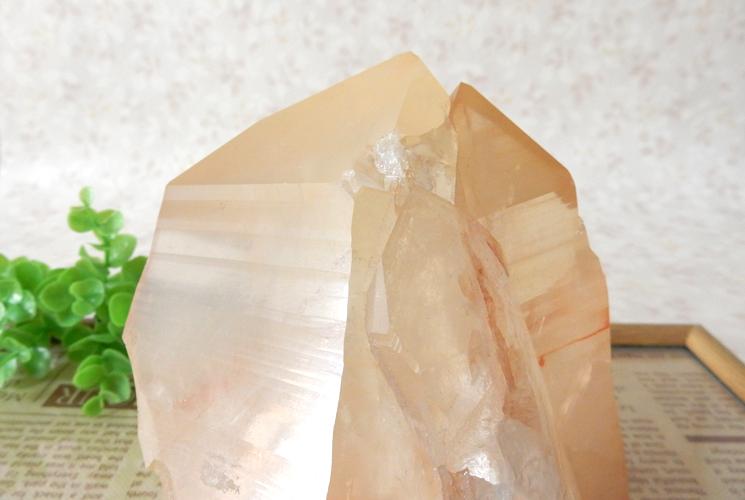 ヒマラヤ産水晶のクラスター-5