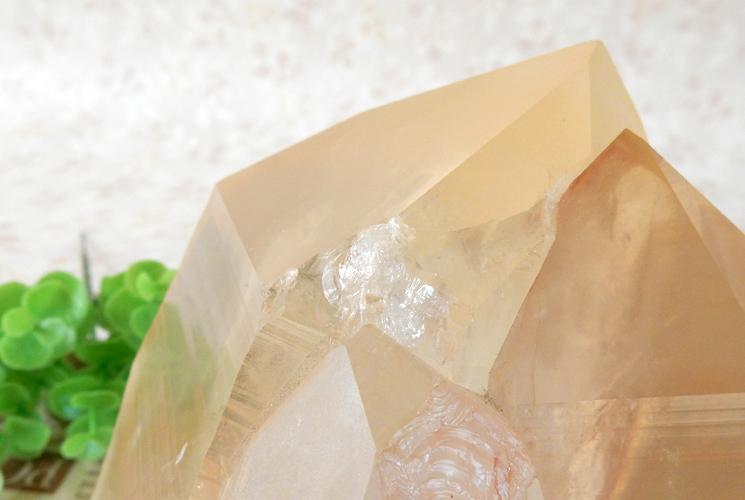 ヒマラヤ産水晶のクラスター-7