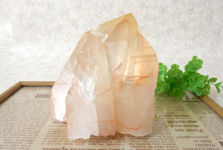 ヒマラヤ産水晶のクラスター
